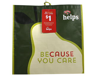 has been selected as a nonprofit organization that will receive 1 per re usable bag purchased during the month of july at the bridgton hannaford - Hannaford Christmas Hours